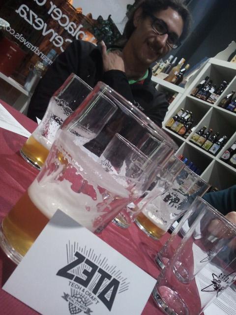 Carlos, de Zeta Beer