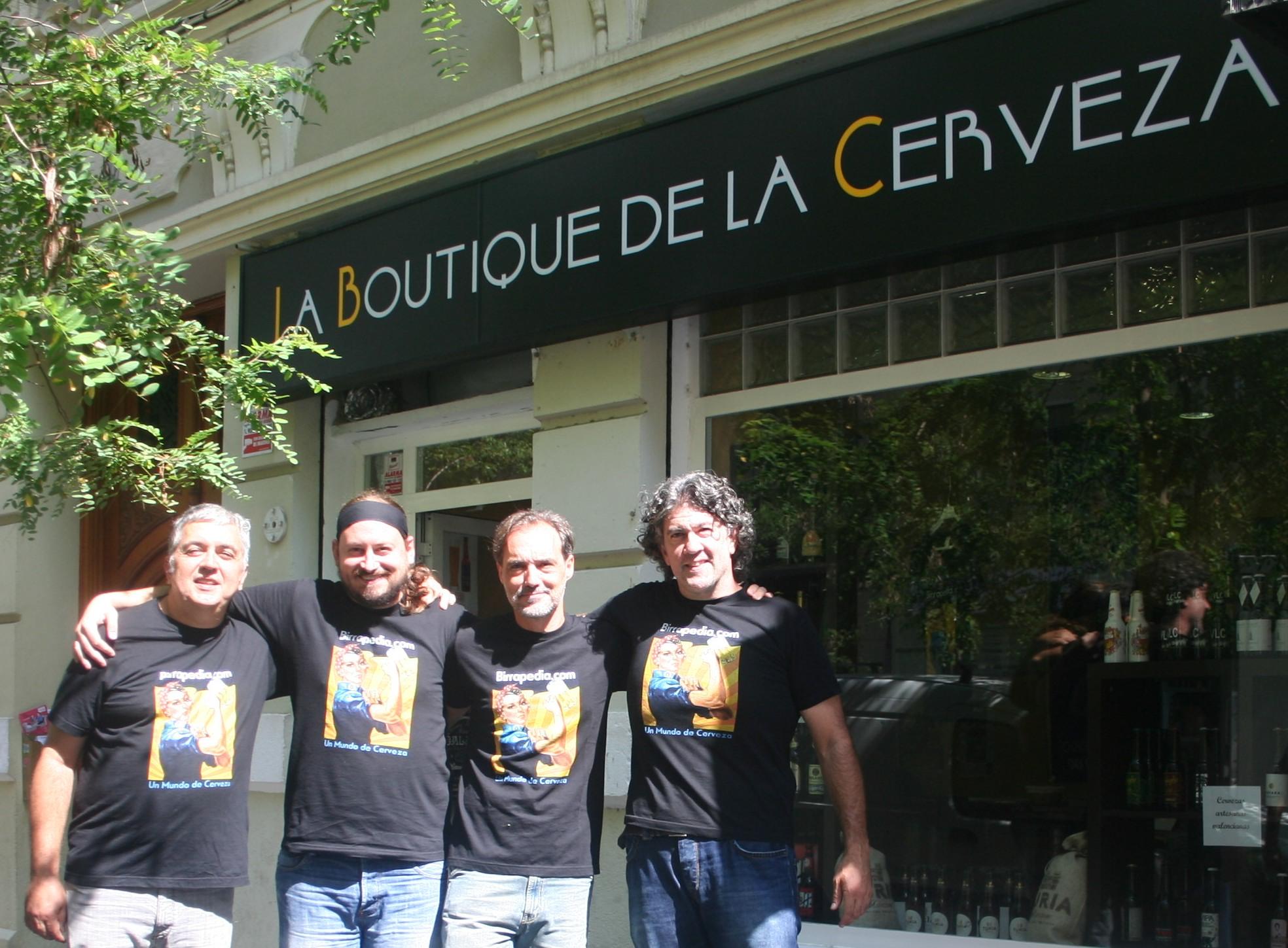 El equipo Boutique-Birrapedia-Estucerveza