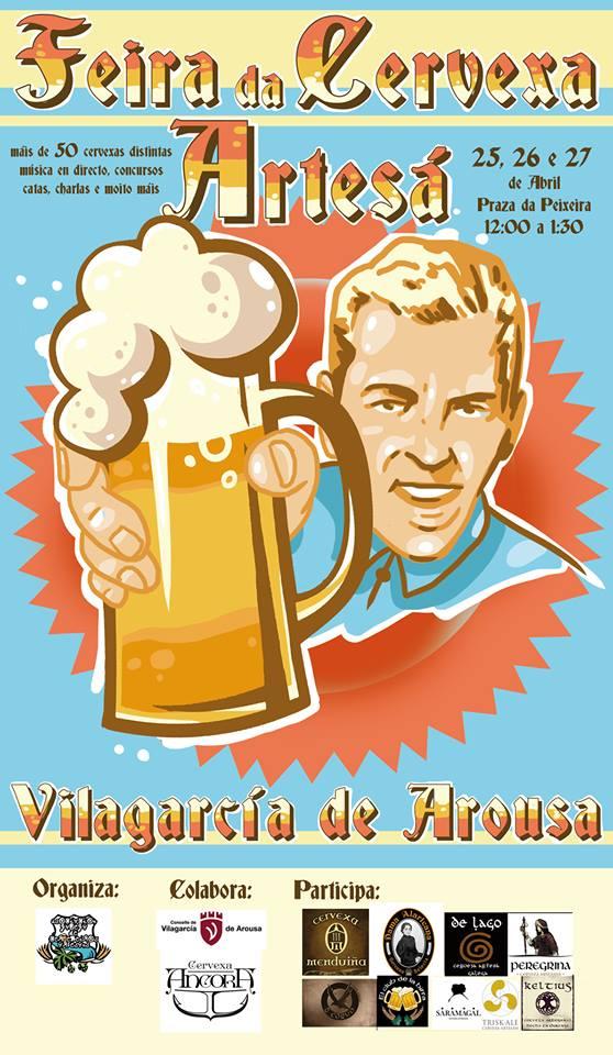 Feira da Cervexa Artesá en Vilagarcía d