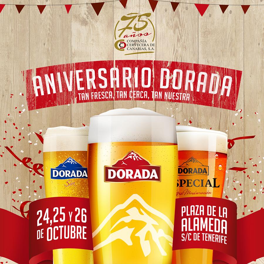 75 aniversario compañia cervecera de canarias