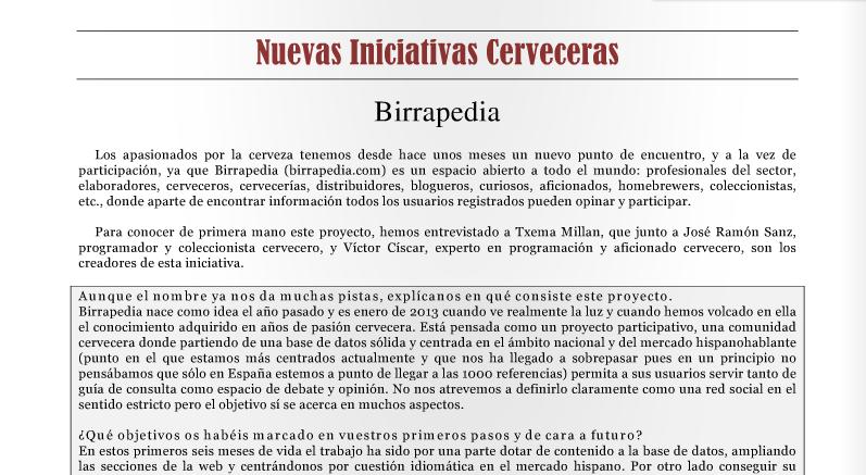 gacetilla birrapedia