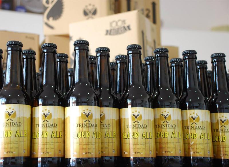 Cervezas Trinidad Blonde