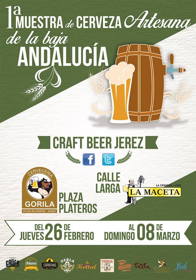 1ª Muestra de Cerveza Artesana de la Baja Andalucía