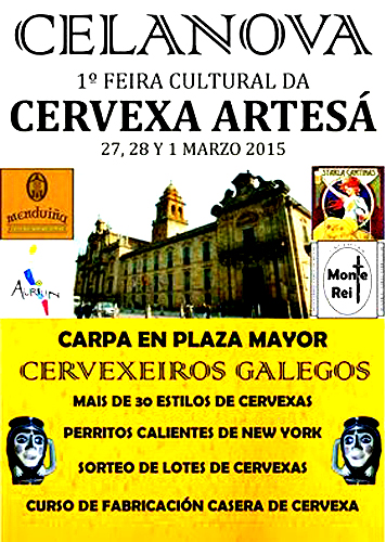 1ª Feira Cultural Da Cervexa Artesá en Celanova