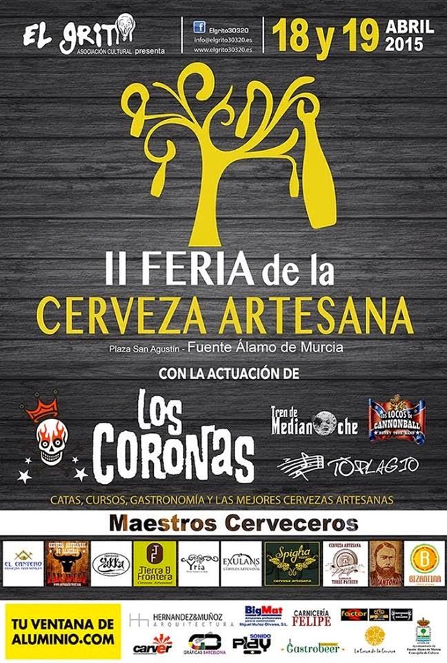 II Feria de la Cerveza Artesana de Fuente Álamo