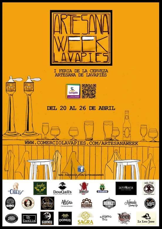 Artesana Week Lavapiés - 1ª  Feria de la Cerveza Artesana de Lavapiés