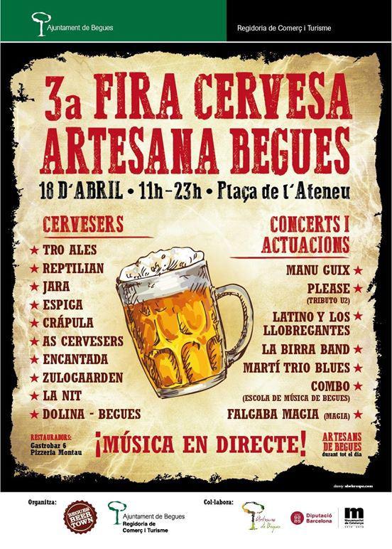 3ª Fira Cervesa Artesana Begues