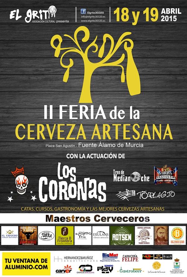 II Feria de la Cerveza Artesana Fuente Alamo - 2015