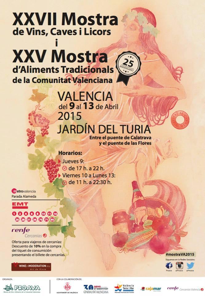 Mostra de Vins i Aliments de la Comunitat Valenciana - 2015