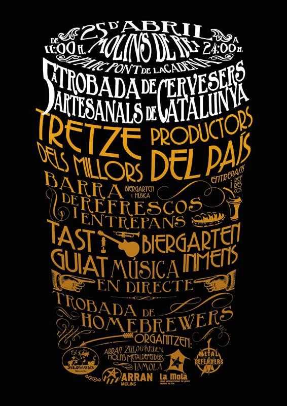 5a Trobada de Cervesers Artesans Catalans - TCAC 2015