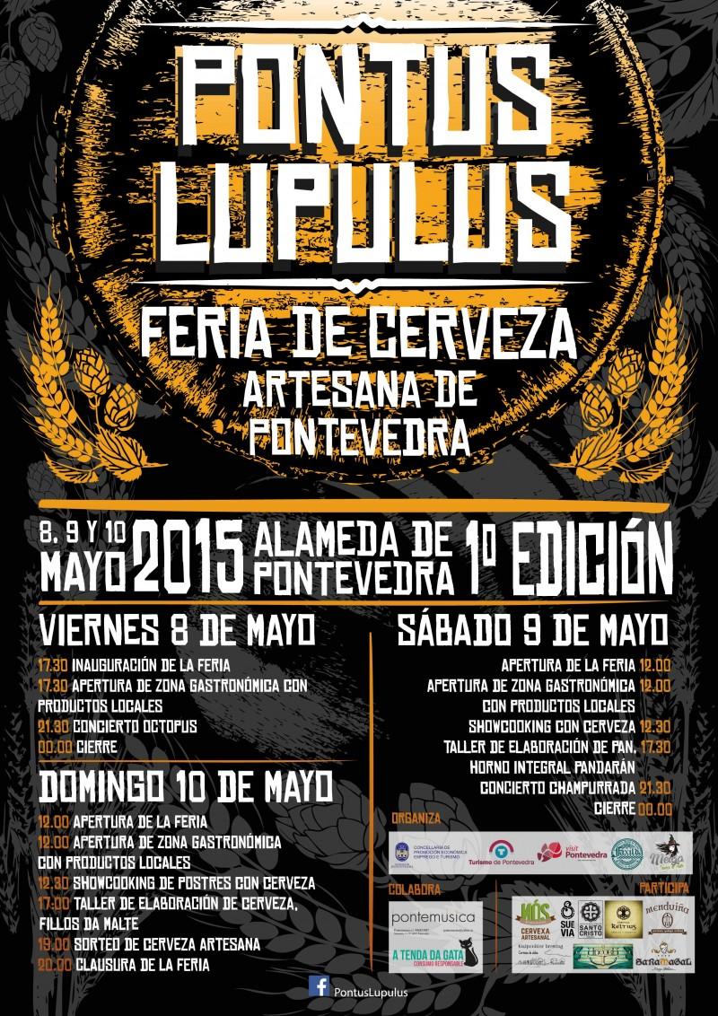 Pontus Lupulus - 1ª Feria Cerveza Artesana de Pontevedra