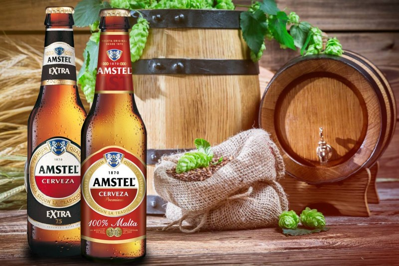 amstel nueva botella