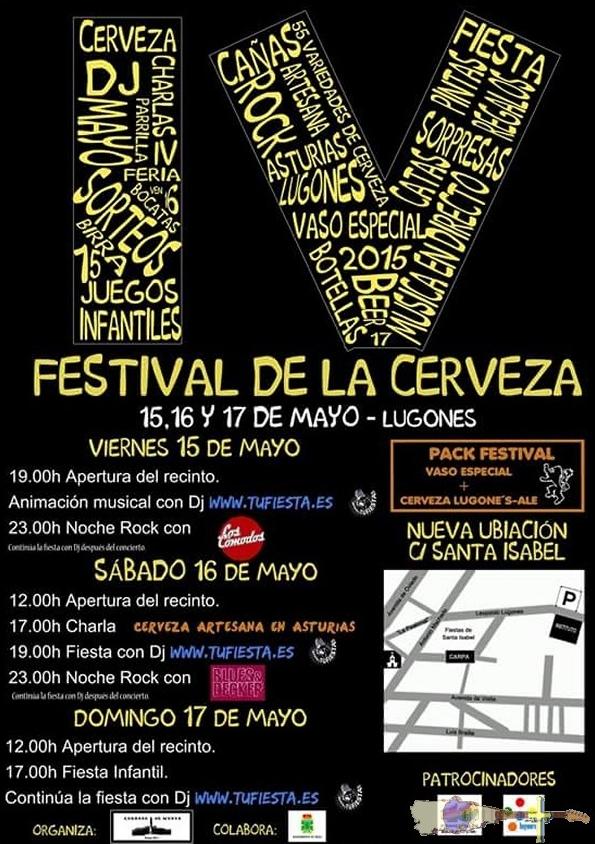 IV Festival de la Cerveza de Lugones 2015