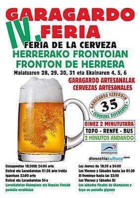 Txirritako Txuriurdinak - IV Feria de la Cerveza de Herrera
