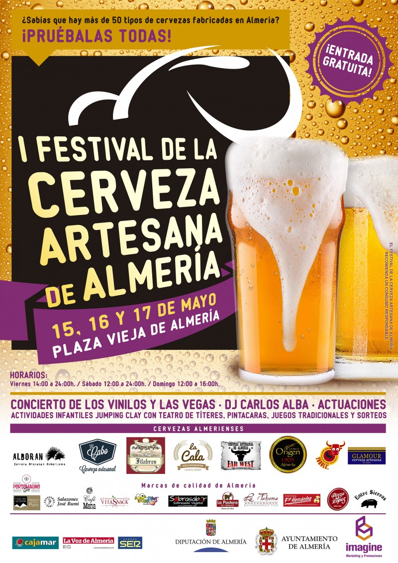 I Festival de la Cerveza Artesana de Almería
