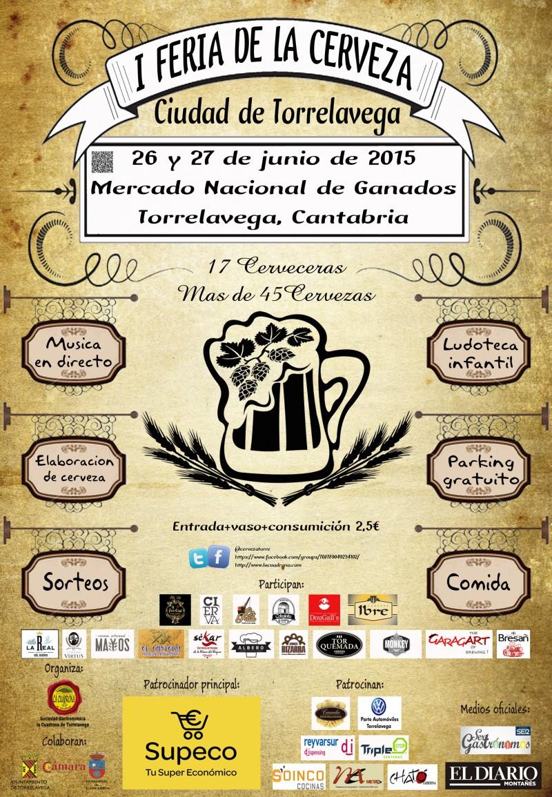 I Feria de la Cerveza Ciudad de Torrelavega - 2015