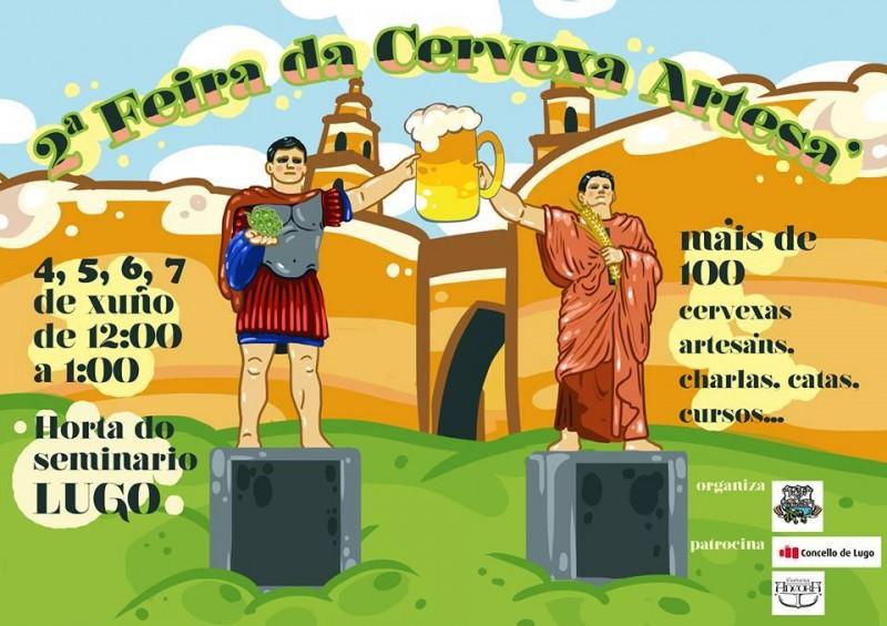II Feria de la Cerveza Artesana Lugo 2015