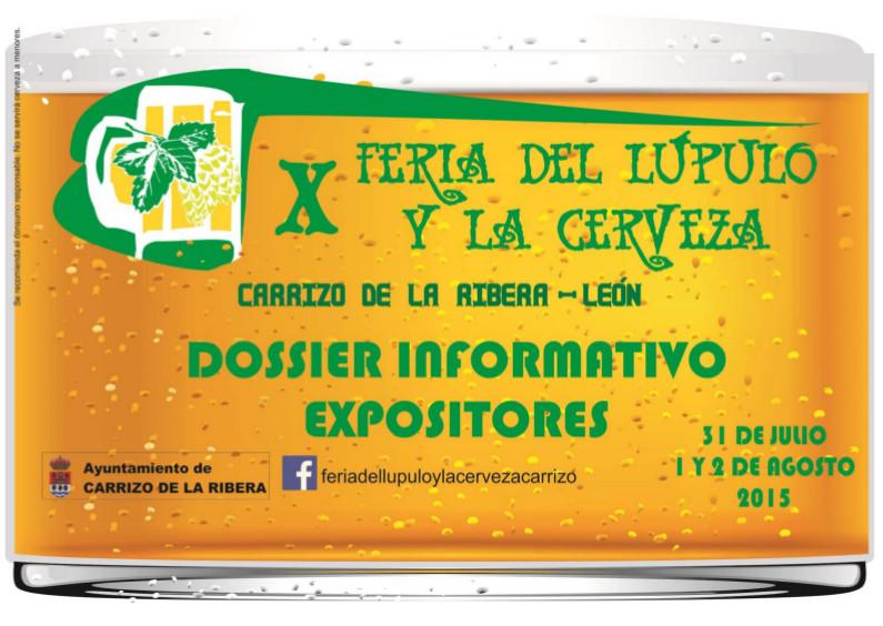 X Feria del Lúpulo y la Cerveza Carrizo de la Ribera