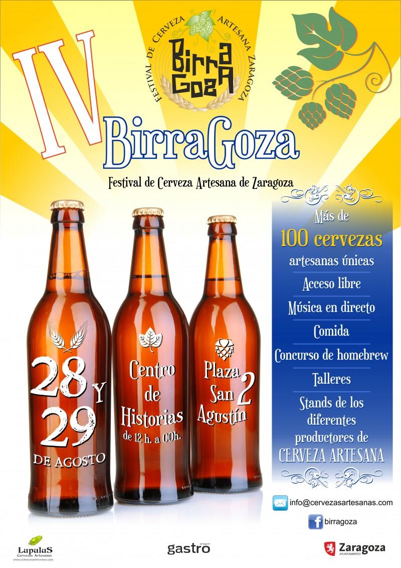 Birragoza 2015 Festival de Cervezas artesanas de Zaragoza