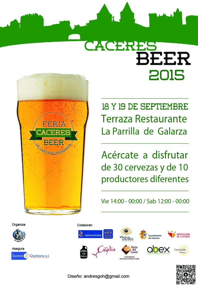 Cáceres Beer 2015