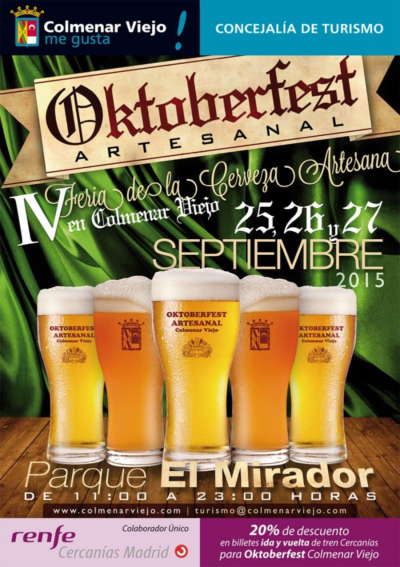 Oktoberfest Artesanal Colmenar Viejo 2015