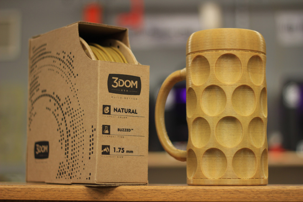 buzzed filamento imprimir cerveza