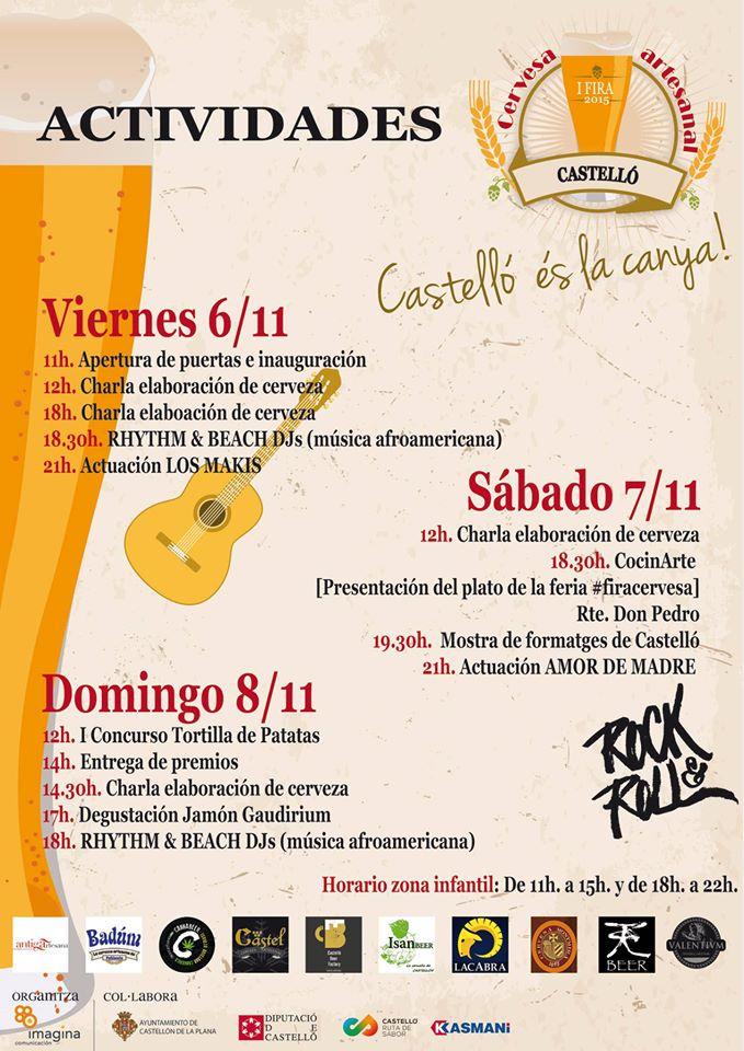 Fira de Cervesa Artesanal Castelló 2015