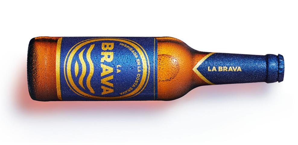 Imagen botella de cerveza La Brava