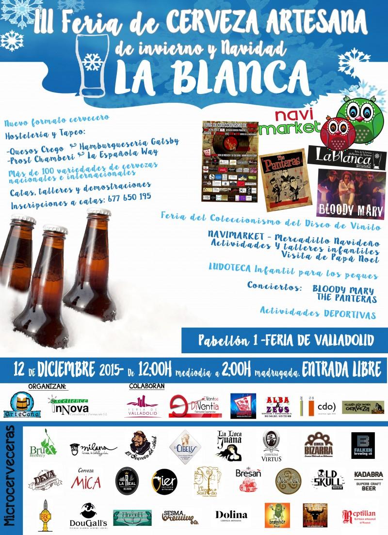 "III Feria de la Cerveza Artesana de Invierno "" La Blanca"""