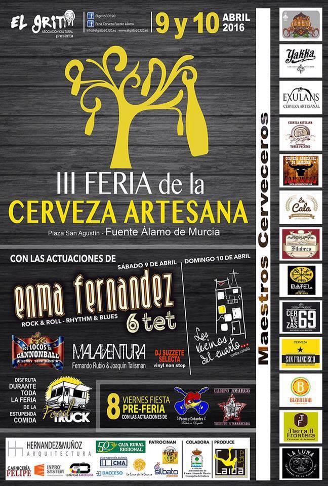 III Feria Cerveza Artesana de Fuente Álamo