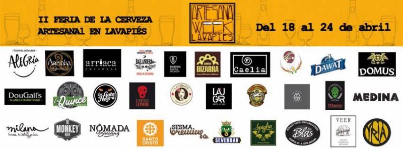 II Feria Cerveza Artesana Week Lavapiés