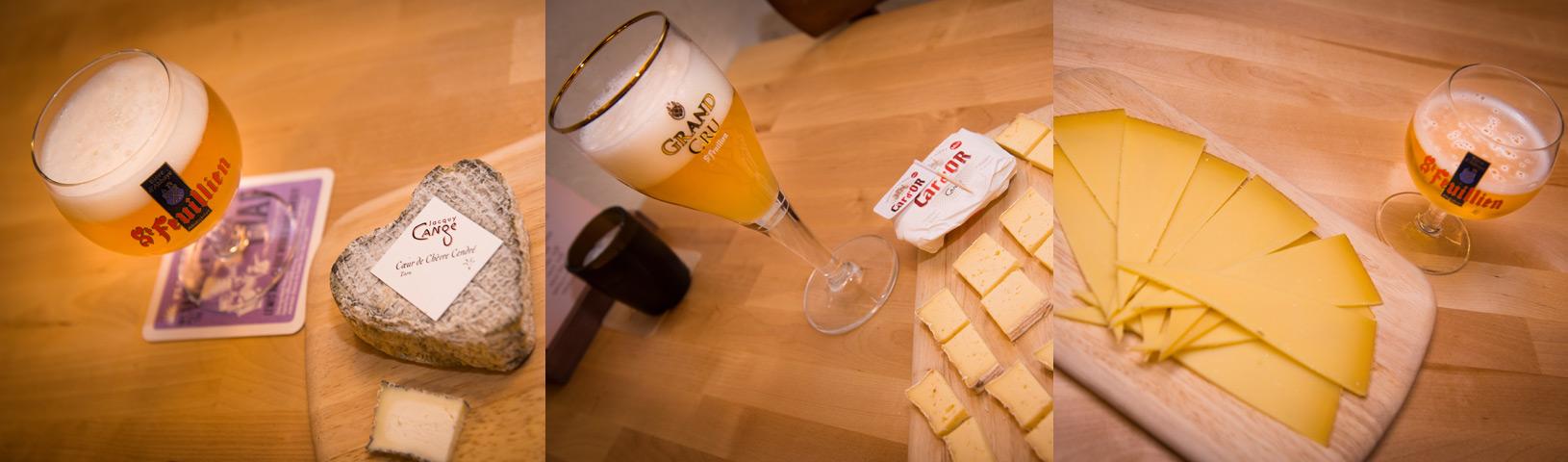 Fotografías cervezas St.Feuillien