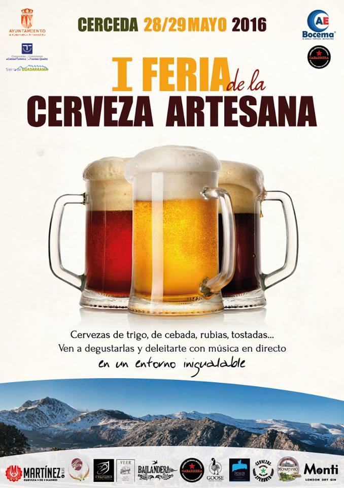 I Feria de la Cerveza Artesana en Cerceda (Madrid)