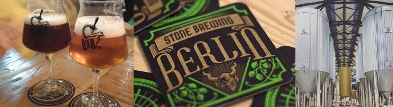 Cervezas y posavasos Stone Brewing