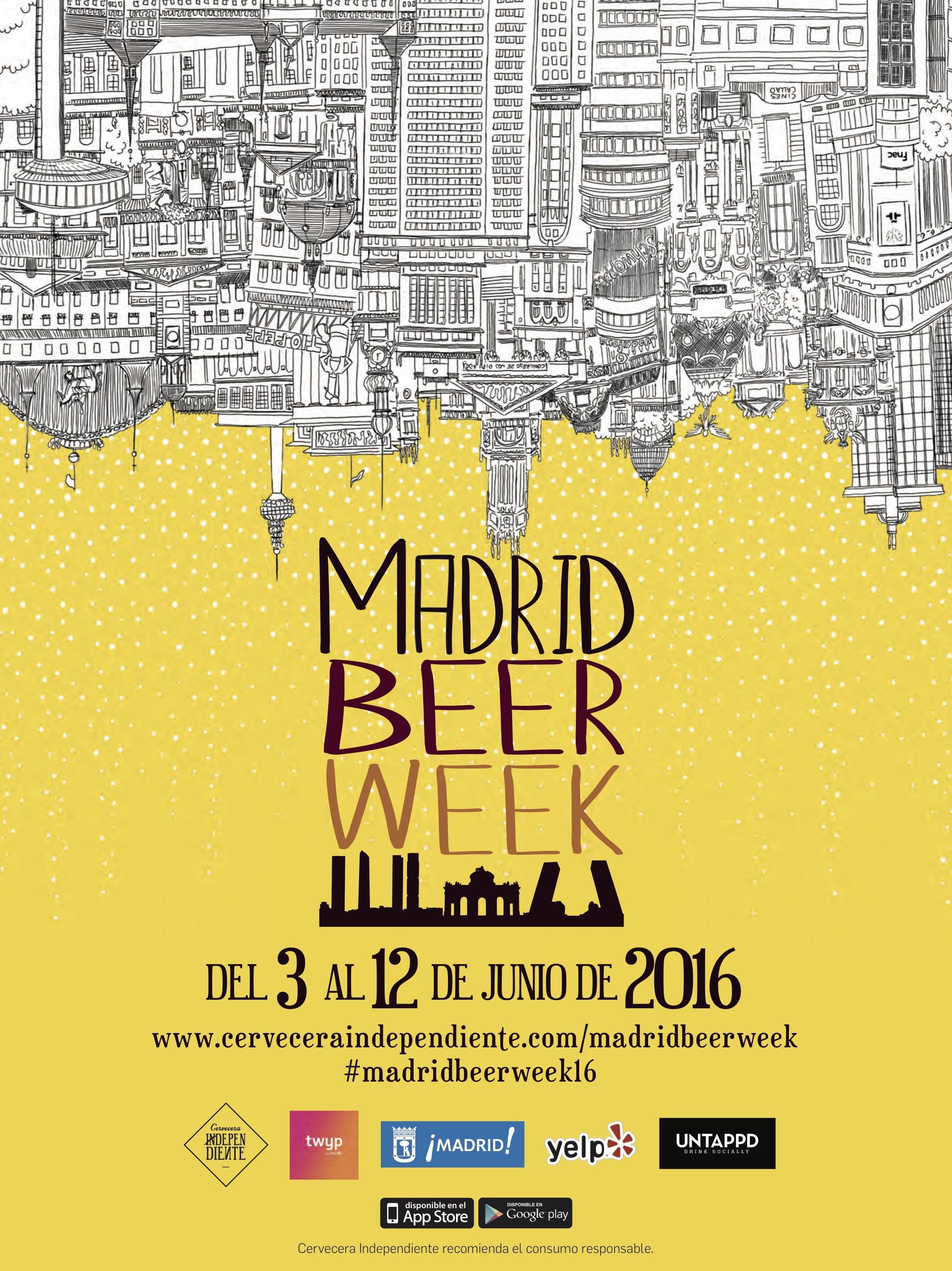 Madrid Beer Week 2016