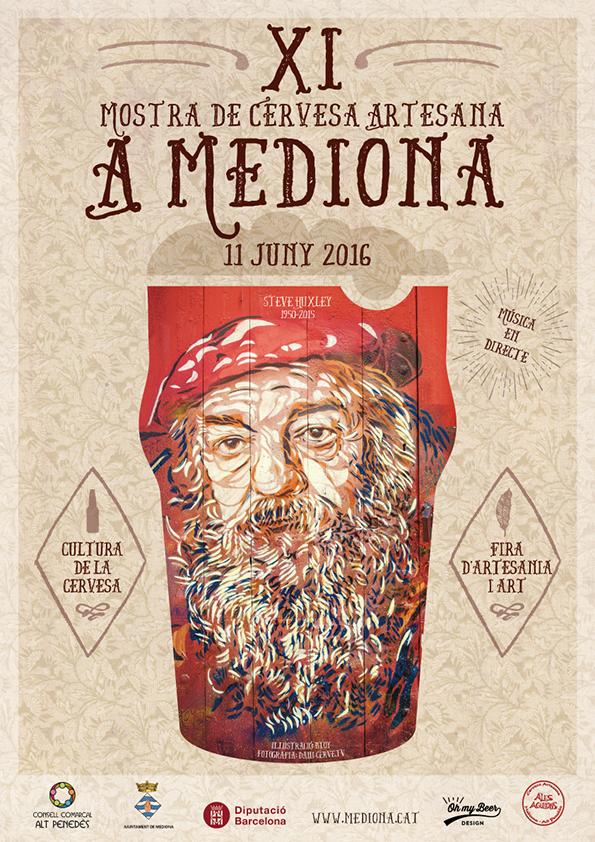 XI Mostra de Cervesa Artesana a Mediona 2016