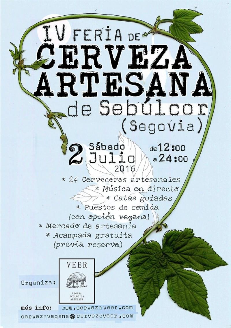 IV Feria de Cerveza Artesana de Sebúlcor - 2016